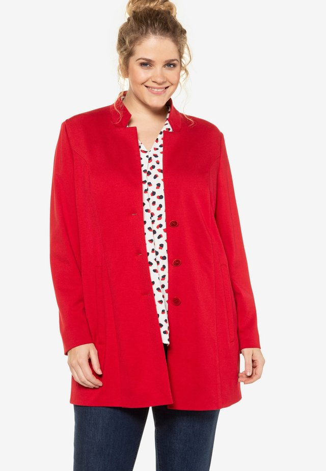 Manteau court - apple red