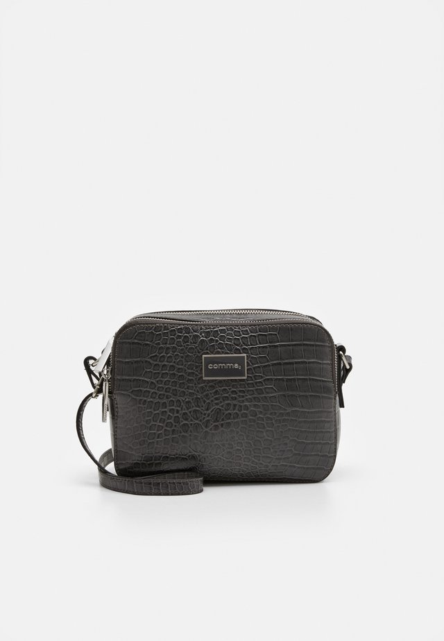 PURE ELEGANCE SHOULDERBAG - Sac bandoulière - darkgrey