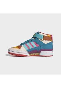 adidas Originals - FORUM MID ORIGINALS SNEAKERS SHOES - Zapatillas altas - pulse aqua/pink tint/sonic fuchsia - 6
