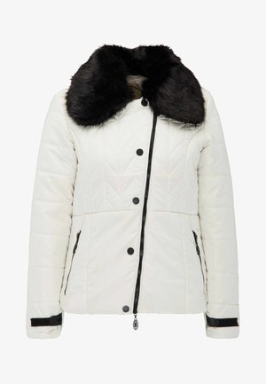 Winter jacket - wool white