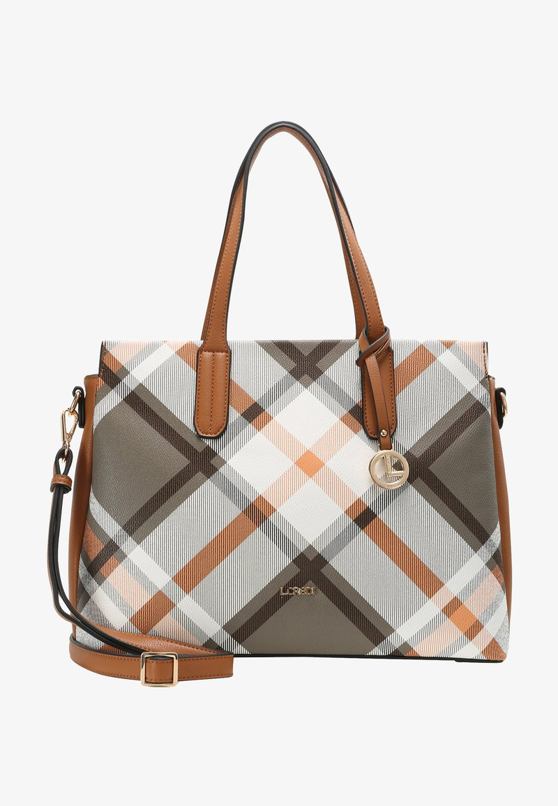 L. CREDI - FEDRA - Handbag - cognac