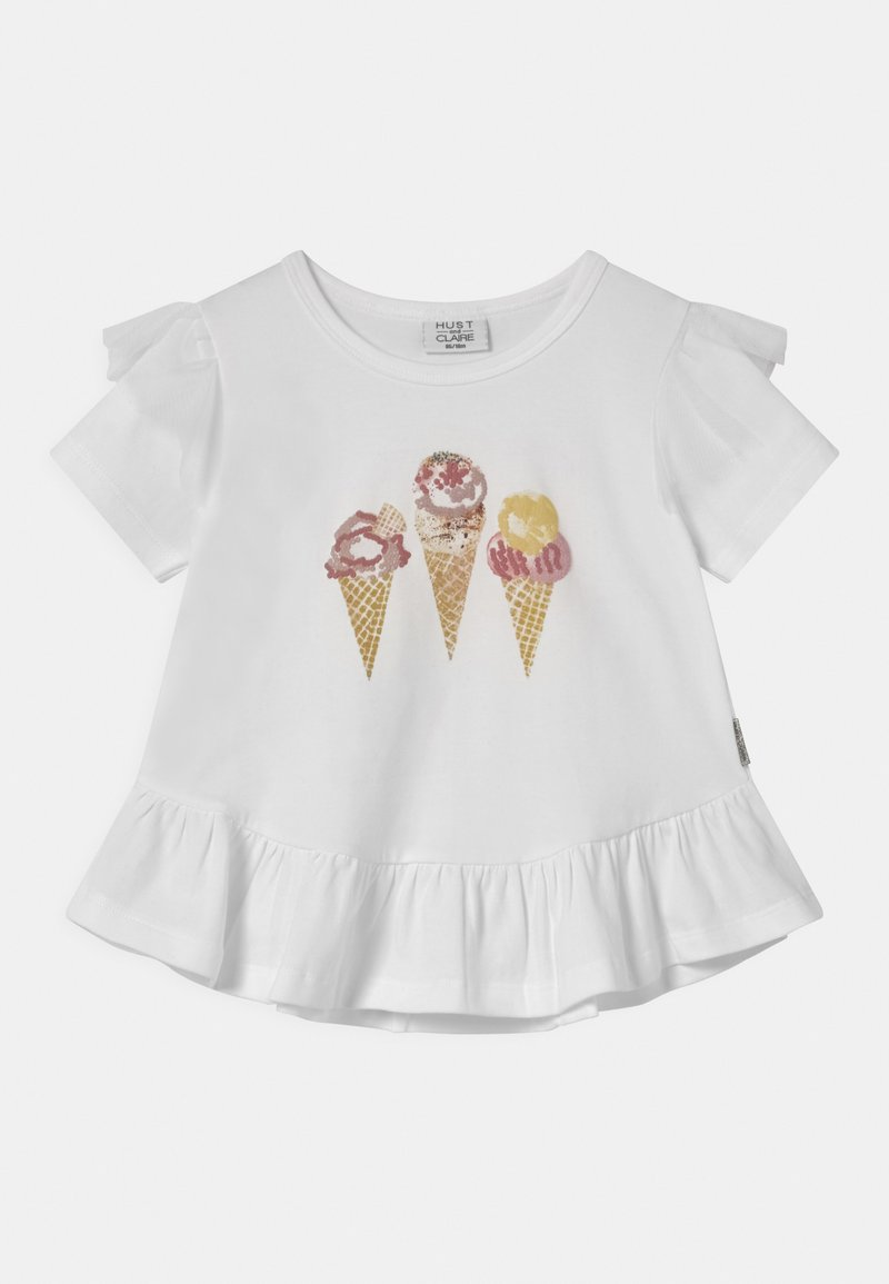 Hust & Claire - ATHENA  - T-shirts med print - white