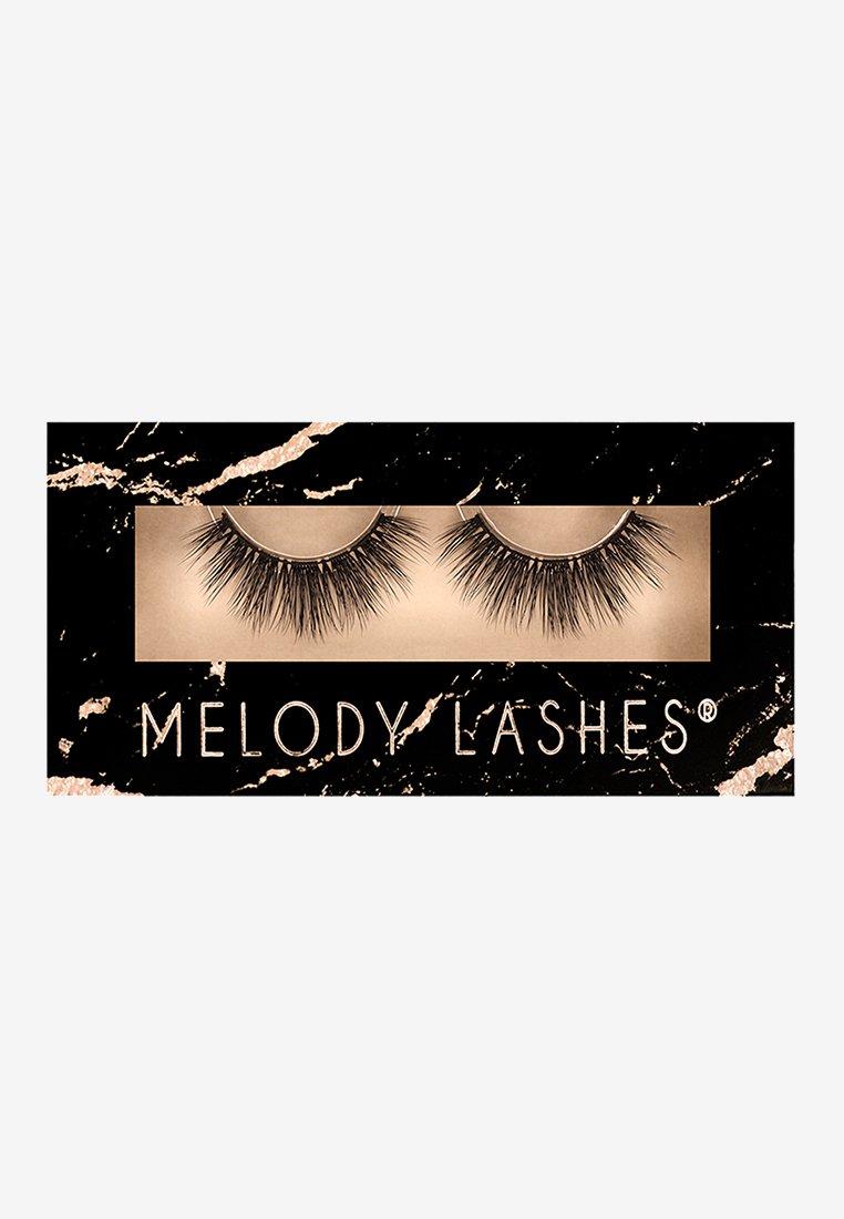 Melody Lashes - SEXY LI - False eyelashes - black