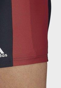 adidas Performance - FITNESS THREE-SECOND SWIM BRIEFS - Bañador - blue - 4
