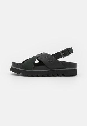 SANTA MONICA SUNRISE X BAND - Platform sandals - black