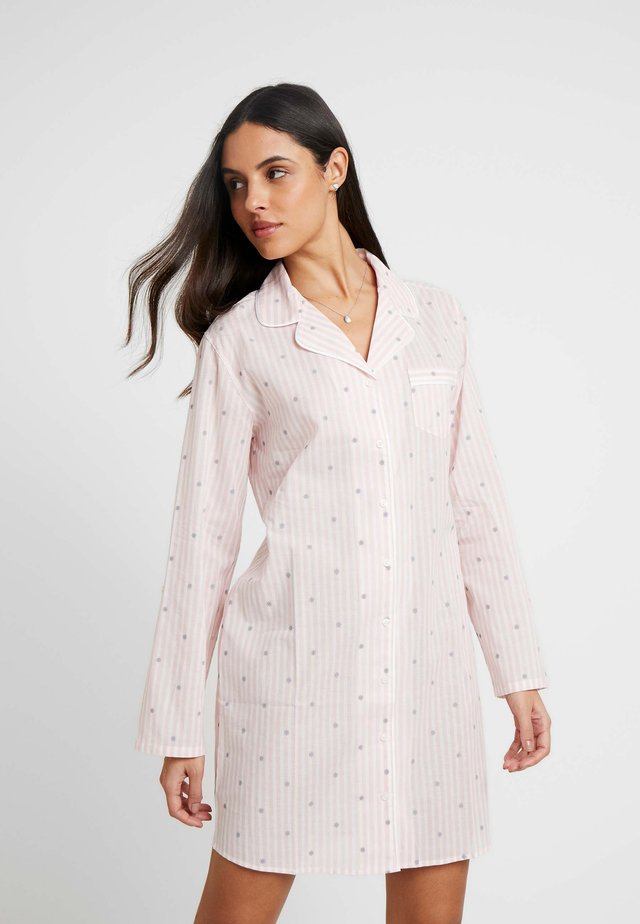 LITTLE STRIPE PYJAMAKLEID - Camicia da notte - rose/weiss