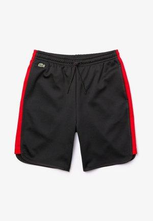 Sports shorts - schwarz  rot