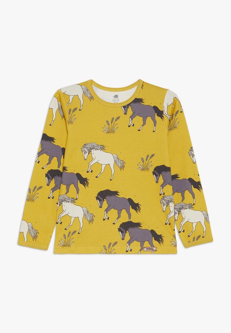 Walkiddy - Langærmede T-shirts - dark yellow