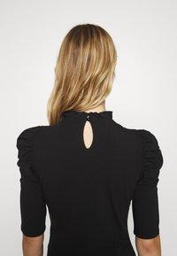 ONLY - ONLLIVE LOVE SCARLETT - Long sleeved top - black - 3