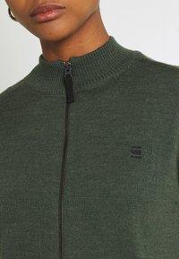G-Star - CORE ZIP THRU - Vest - dark bronze green - 5