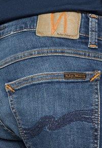 Nudie Jeans - TIGHT TERRY - Jeans Skinny Fit - steel navy - 4