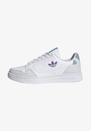 NY 90 - Sneakersy niskie - ftwr white/shock pink/mint ton