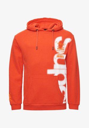 Jersey con capucha - havana orange