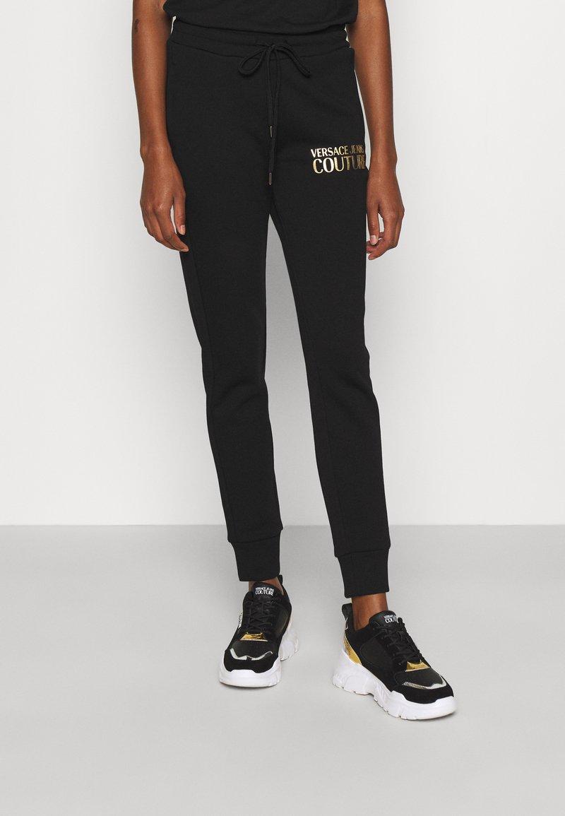 Versace Jeans Couture - PANTS - Tracksuit bottoms - black