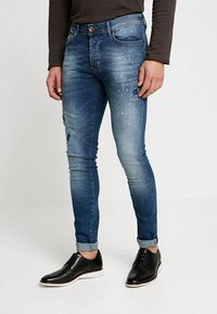 Cars Jeans - ARON - Jeansy Skinny Fit - dark used - 0
