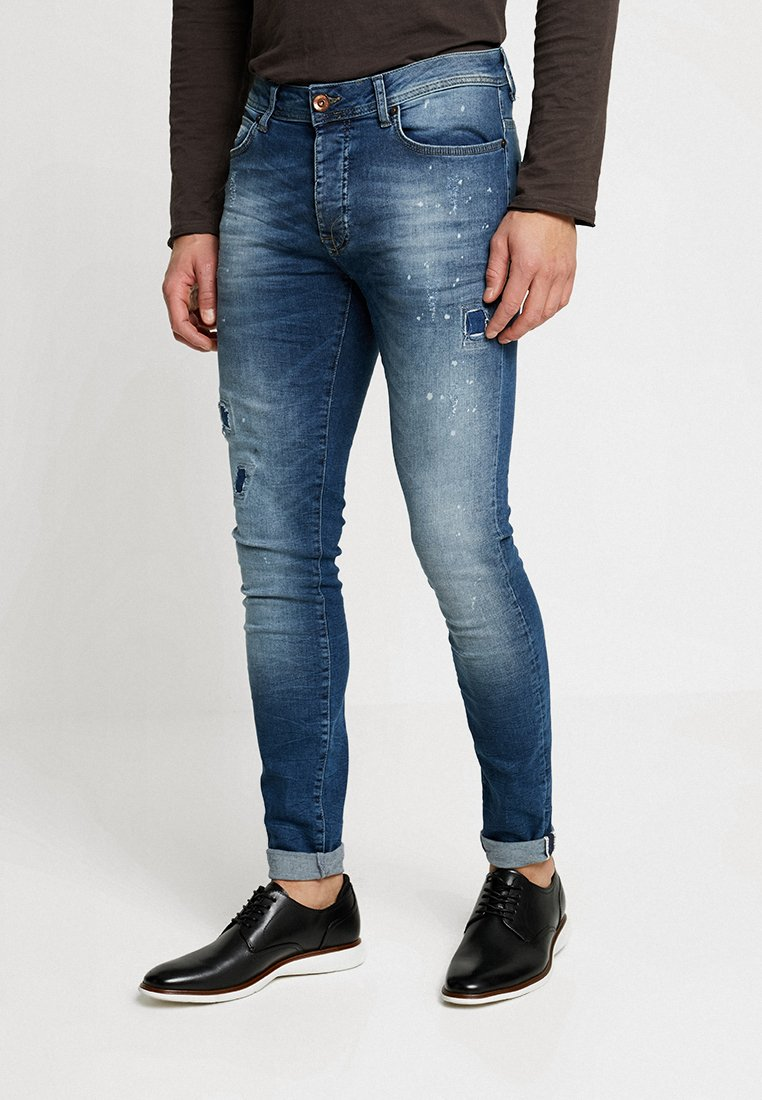 Cars Jeans - ARON - Jeansy Skinny Fit - dark used