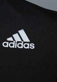 adidas Performance - AERO 3-STRIPES COLD WEATHER TRAININGSSHIRT HERREN - Camiseta estampada - black - 2