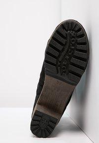 Softclox - BOOTIE - Platform ankle boots - bailey schwarz - 5