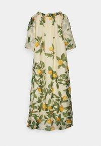 Object Petite - OBJLEMON OFF SHOULDER DRESS - Day dress - sandshell - 1