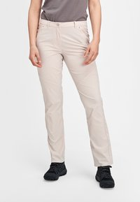 Mammut - HIKING PANTS WOMEN - Outdoor trousers - moonbeam - 0