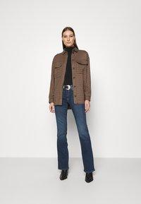 Mavi - BELLA - Bootcut jeans - mid shaded glam - 1