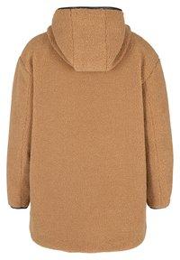 Zizzi - Fleece jacket - brown - 2