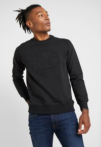Lee - EMBOSSED CREW - Sweatshirt - black - 0