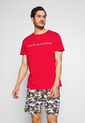 TEE LOGO - Koszulka do spania - red