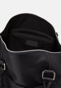 Zign - UNISEX LEATHER - Weekend bag - black - 2