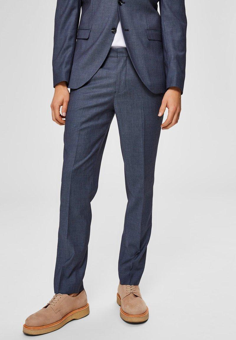 Selected Homme - Pantalon de costume - light blue