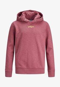 Jack & Jones Junior - Jersey con capucha - hawthorn rose - 5