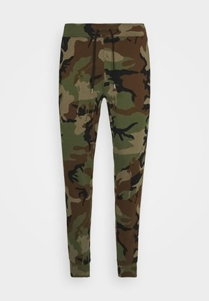 Tracksuit bottoms - olive