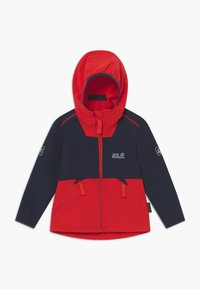 Jack Wolfskin - TURBULENCE BOYS - Soft shell jacket - peak red - 0