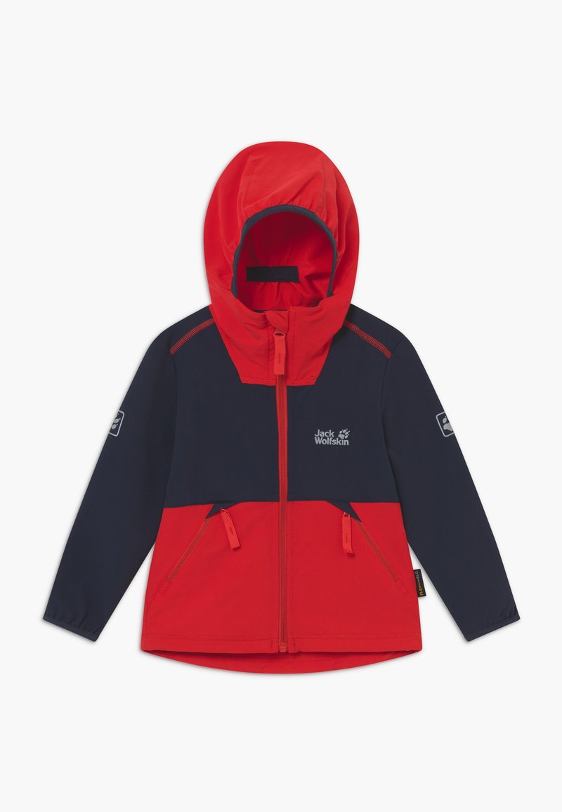 Jack Wolfskin - TURBULENCE BOYS - Soft shell jacket - peak red