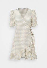 VILA PETITE - VIOLIVANA WRAP DRESS - Day dress - sunlight/ashley blie - 0