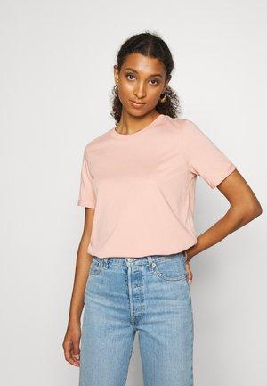 PCRIA FOLD UP TEE - Basic T-shirt - misty rose