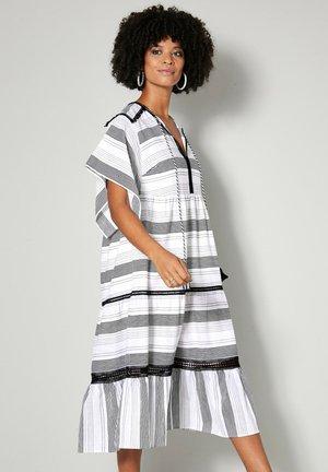 Day dress - off-white schwarz