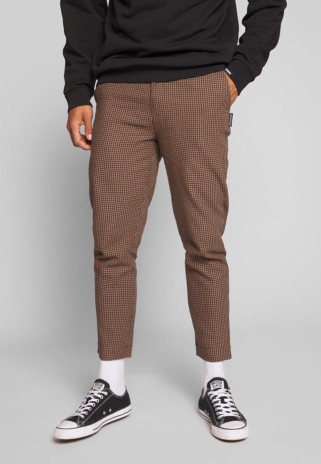 KIRK TROUSER - Pantalon classique - black