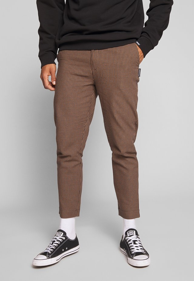 KIRK TROUSER - Spodnie materiałowe - black