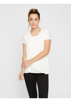 MLLEA - T-shirt basic - snow white
