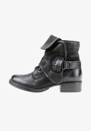 STIEFELETTEN - Cowboy/Biker boots - nero