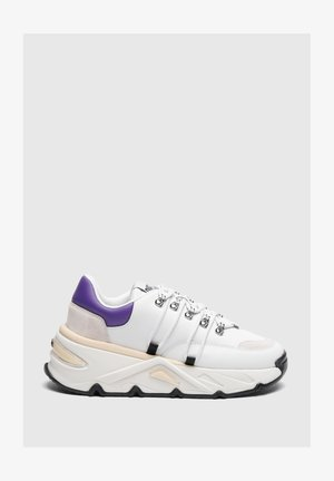 Trainers - white/violet