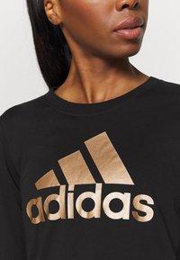 adidas Performance - Camiseta de manga larga - black - 4