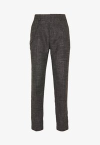 Shelby & Sons - ELDRED TROUSER - Pantaloni - charcoal - 5