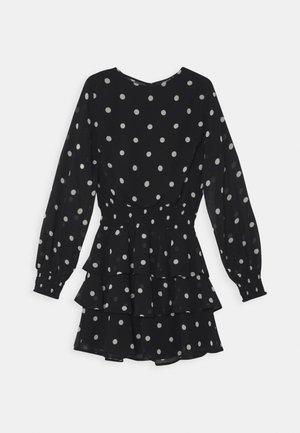 ALVA DRESS EXCLUSIVE - Denní šaty - black/white
