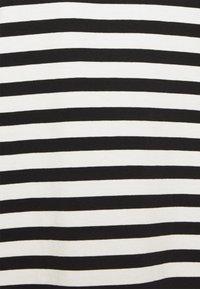 Selected Femme - SLFSTANDARD TEE  - Top sdlouhým rukávem - black/bright white - 2