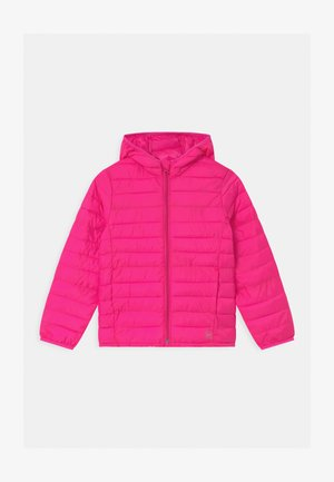 GIRL LIGHTWEIGHT PUFFER - Winter jacket - sizzling fuchsia
