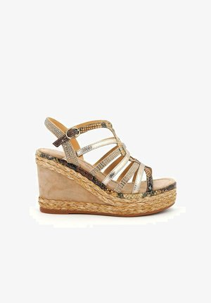 BANGKOK - High heeled sandals - sand
