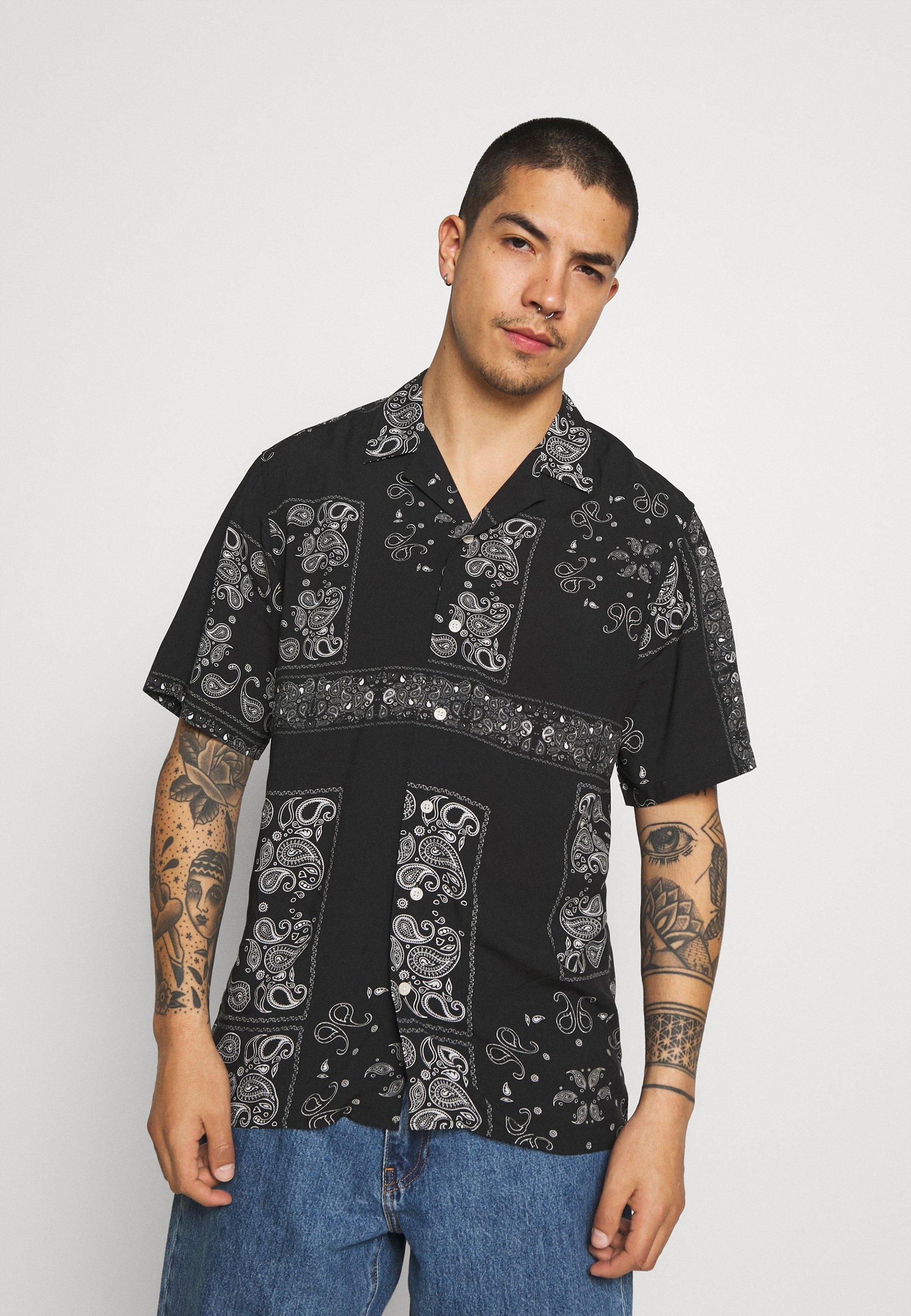 Men THEODORE - Shirt - black