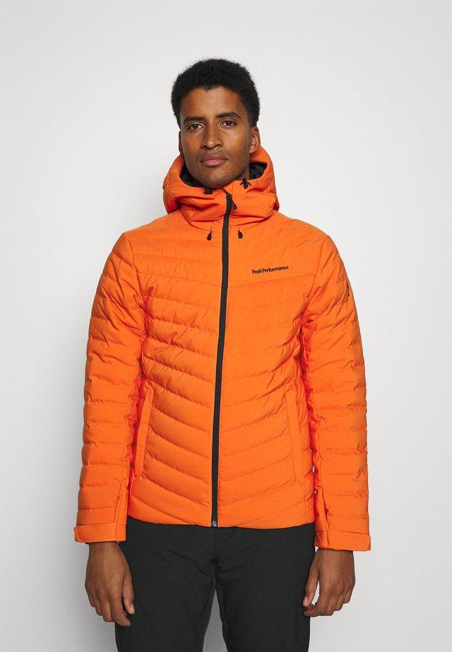 FROST JACKET - Skijakke - orange altitude